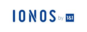 logo ionos 1&1 - hébergement web écologique