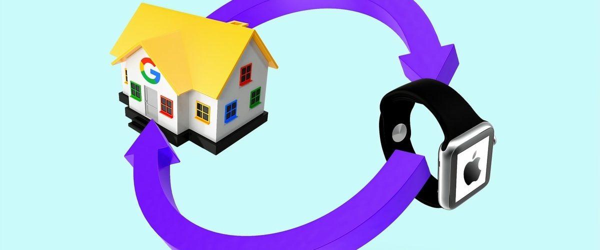 pollution objets connectés : apple watch et google home