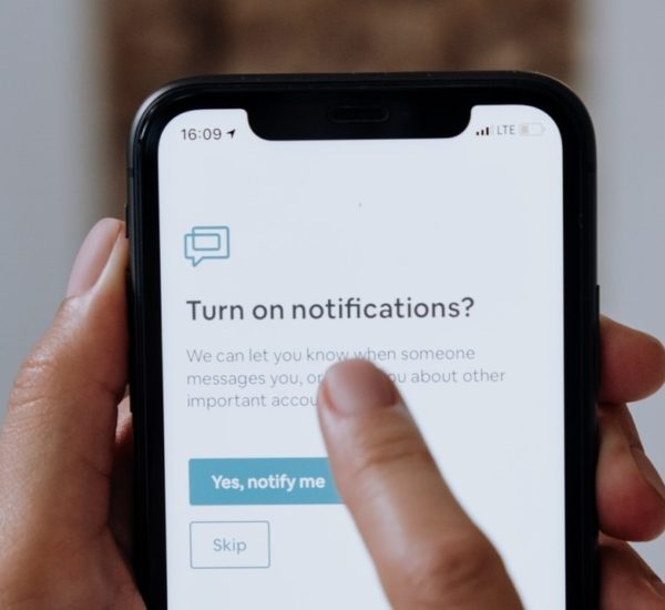 design de notifications responsable
