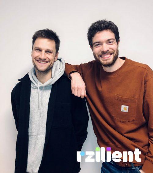 Quentin et Alexis, fondateurs de rzilient